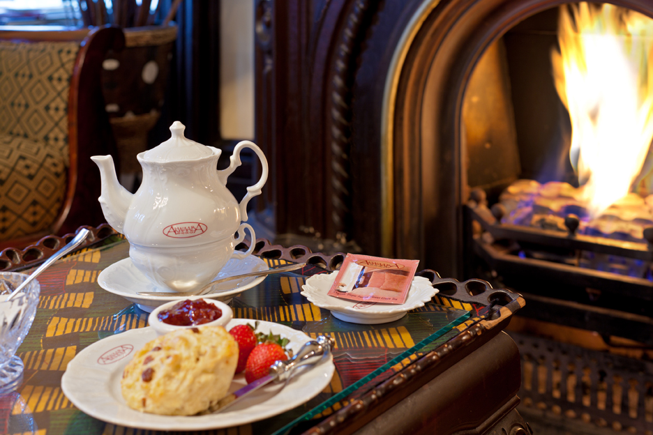 Akwaaba Mansion: Teatime—an afternoon delight