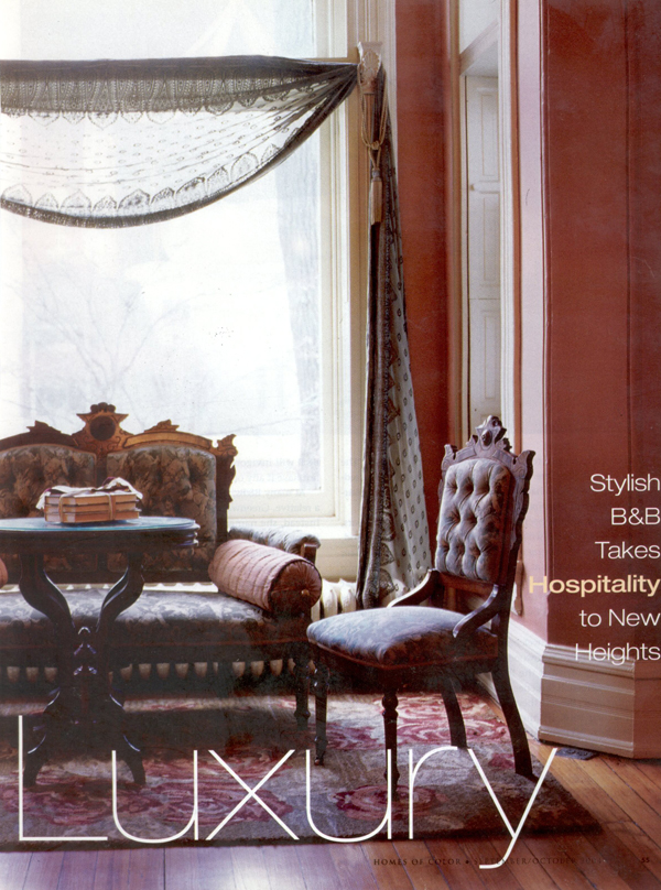Homes of Color - Literary Luxury