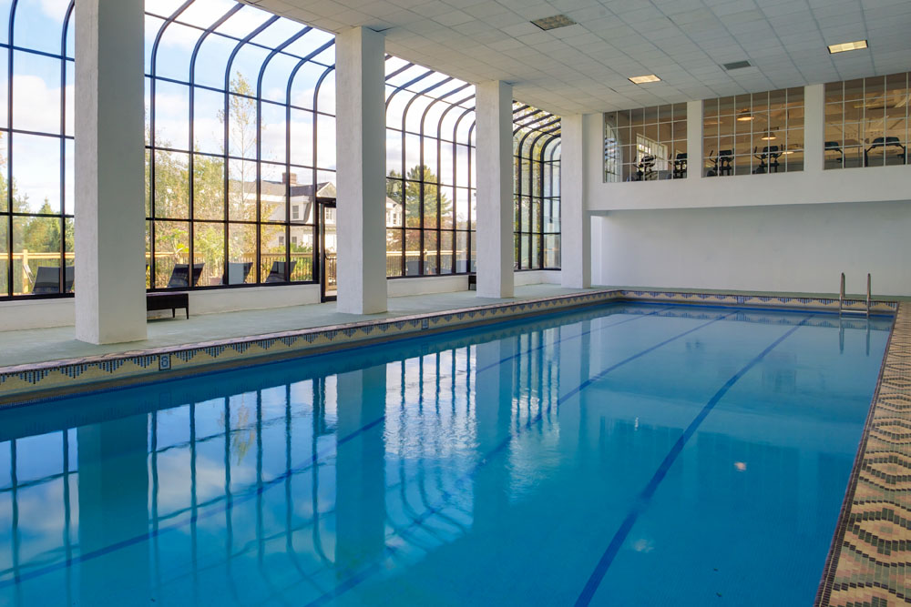The Mansion at Noble Lane: Featuring a heated Olympic-sized pool
