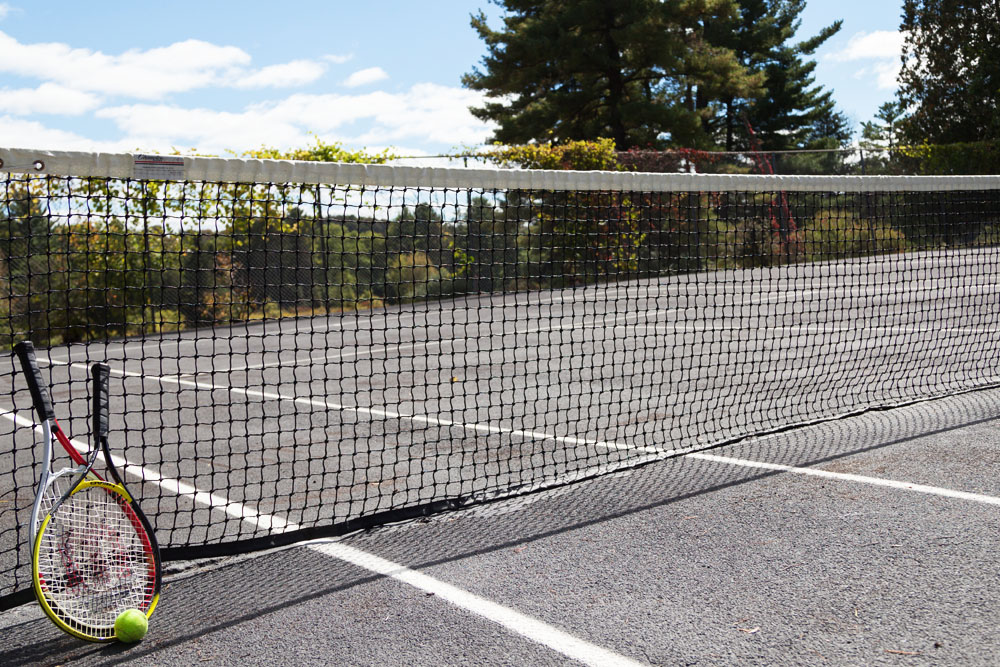 The Mansion at Noble Lane: Tennis Court