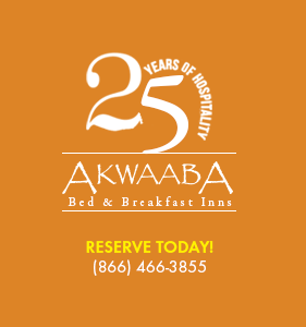 Akwaaba Bed and Breakfast Inns Logo