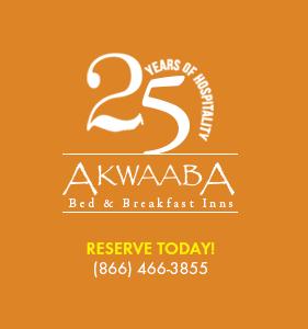 Akwaaba Bed and Breakfast Inns Logo